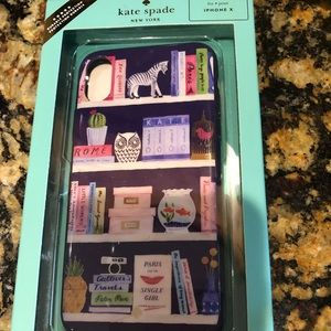 Kate Spade IPhone X library case